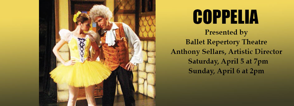 Coppelia – April 5-6, 2014