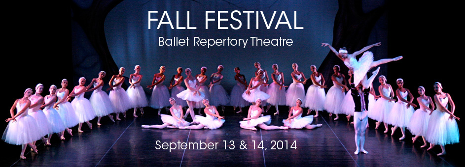Fall Festival by Ballet Repertory Theatre – September 13 & 14, 2014