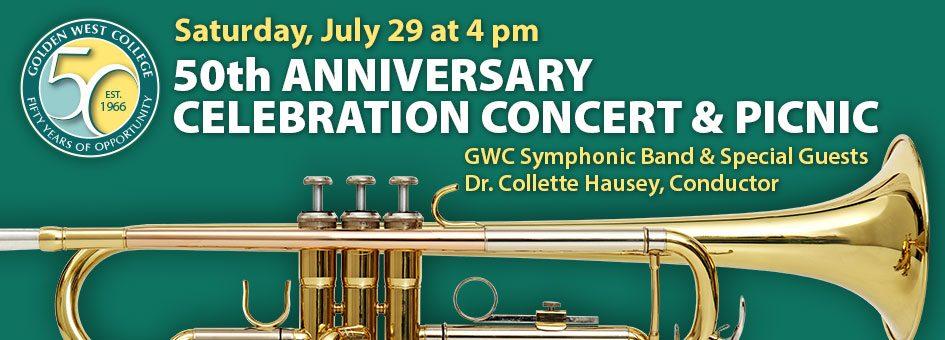 50th Anniversary Celebration Concert & Picnic – July 29, 2017