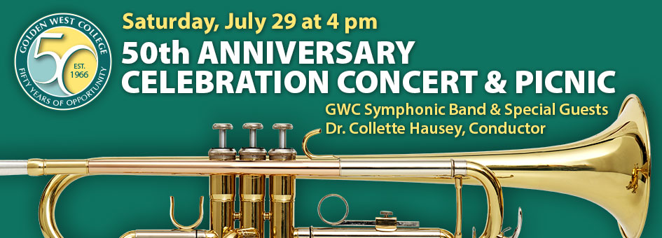 50th Anniversary Celebration Concert & Picnic – July 29, 2017