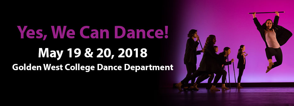 Yes, We Can Dance! – May 19 & 20, 2018