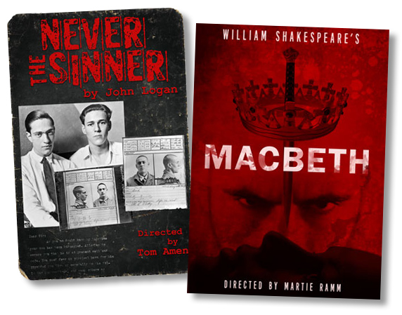 Never the Sinner and MacBeth Productions