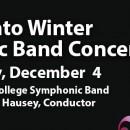Fall into Winter Symphonic Band Concert – Dec 4, 2018