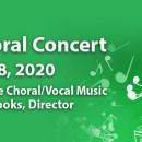 Spring Choral Concert – May 18, 2020