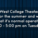 Summer Theater Box Office Hours