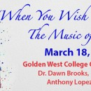 CANCELLED – When You Wish Upon a Star – The Music of Disney