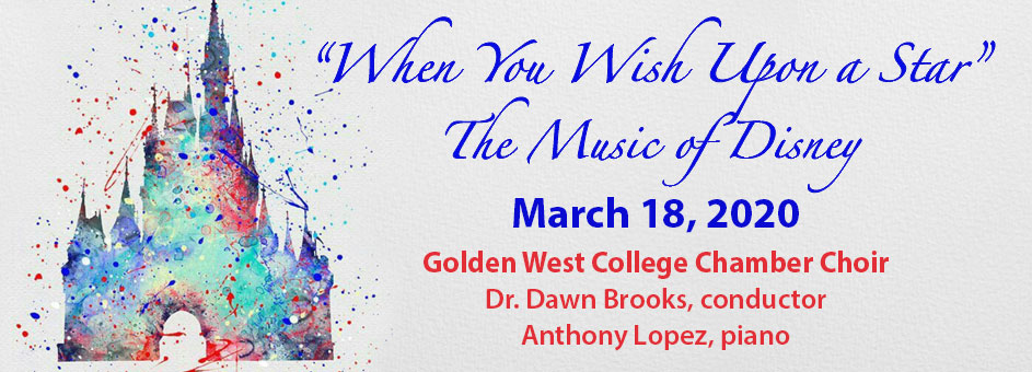 When You Wish Upon a Star – The Music of Disney – March 18, 2020