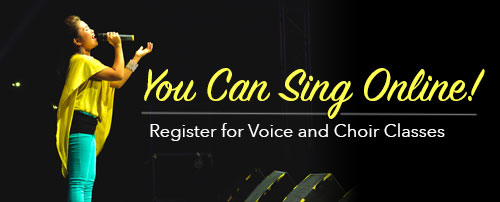 You Can Sing Online!