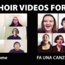 Virtual Choir videos for Fall 2020
